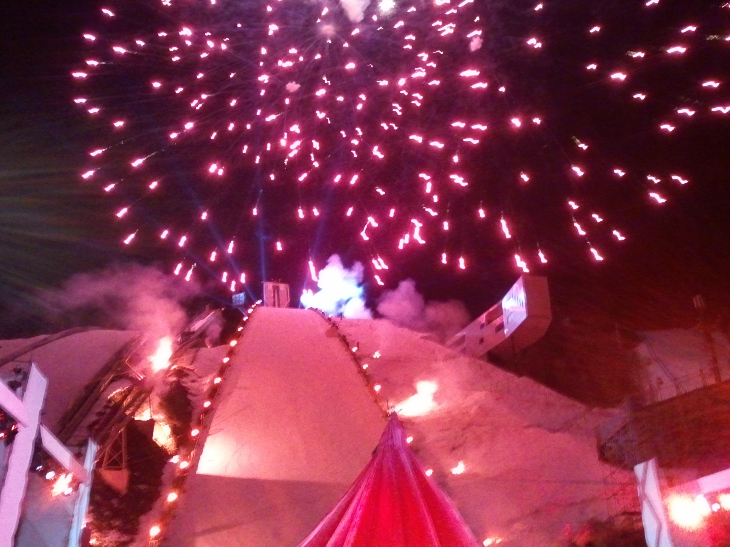 Garmisch Eröffnungsfeier